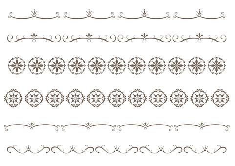 Simple decorative border 15