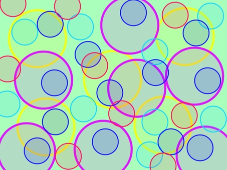 Polka-dot pattern fancy green dot