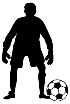 Football silhouette - 11