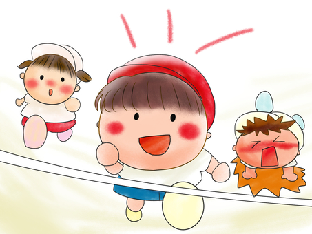 Infant's athletic meet