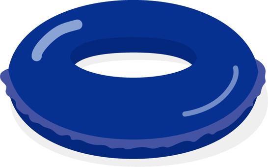Float ring blue