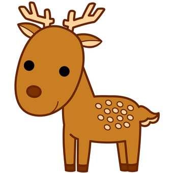 Animal illustration-deer