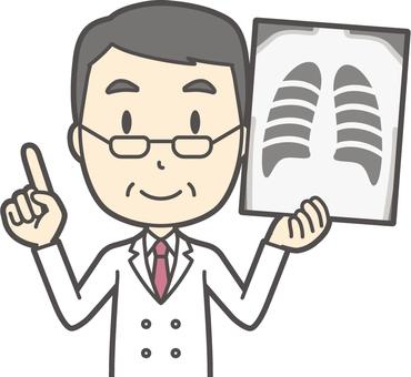 中年男性医師-136-バスト