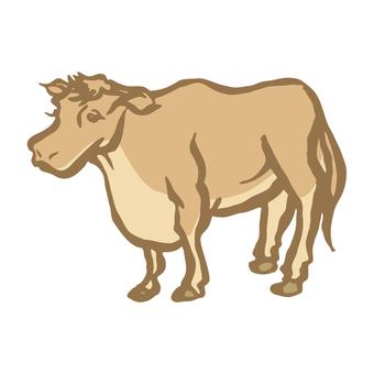 牛手繪插圖2