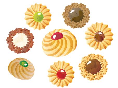 쿠키 많이