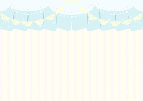 Taobao small fresh powder blue background