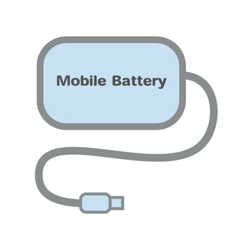 Mobile battery image