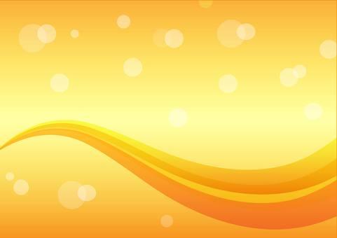 คลื่นพื้นหลังสีส้ม