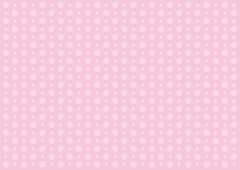 Wallpaper - large and small polka dots - pink