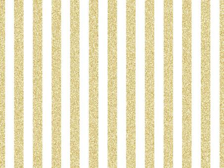 Striped Lame Gold