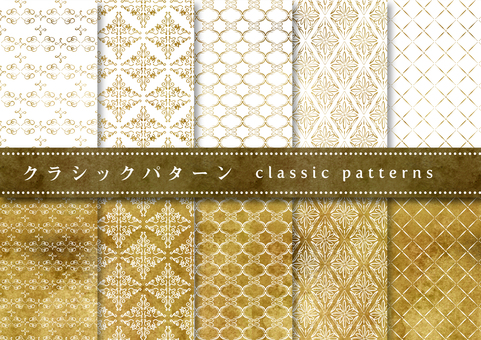 Pattern set 021 Antique