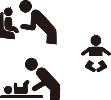 Pictogram baby