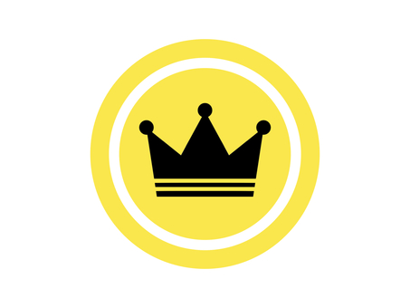 Crown crown crown icon coin