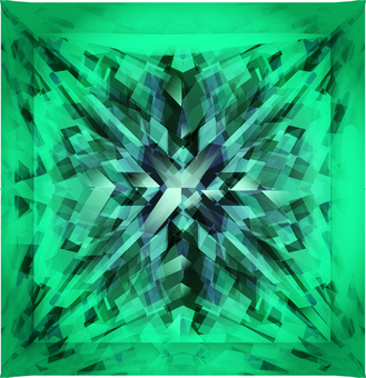 ai princess cut emerald
