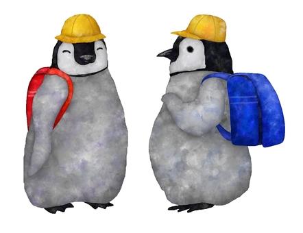Schoolbag penguin