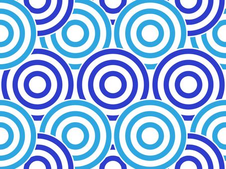 Swirl pattern _ blue series