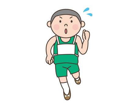 人物/子供/マラソン