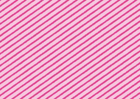 Diagonal striped pink