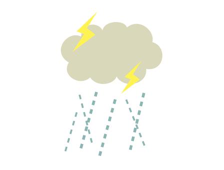 雨_ざーざー