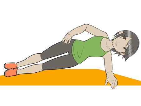 Muscle training girls 18