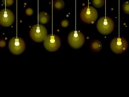 Light bulb color background light