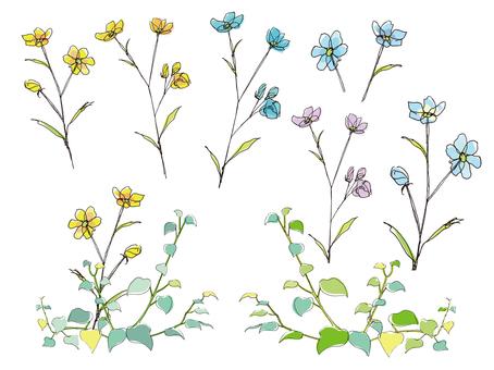 Flowers 々