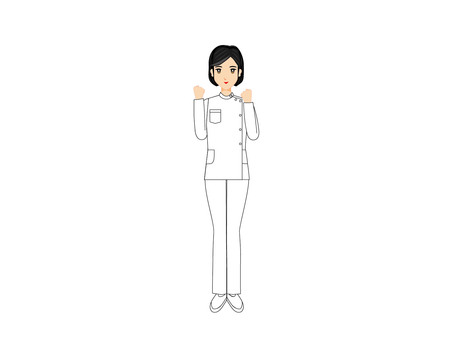 職業女性(看護者3)