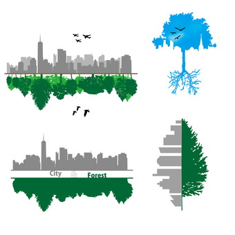 Skyscrapers and Forests_01