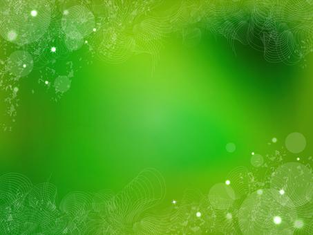 Grunge background - green