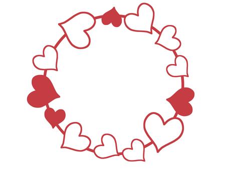 Round Heart Frame