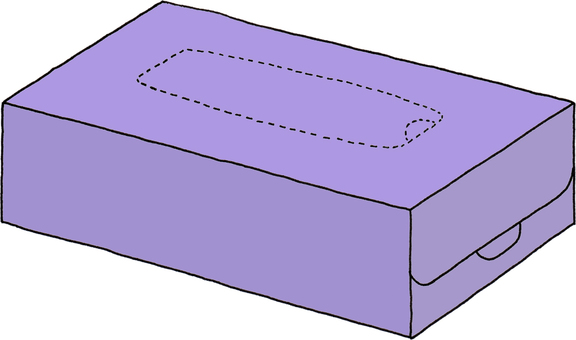 Tissue purple 3 (no character)