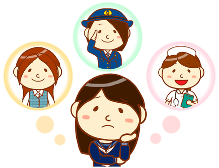"""Sailor uniform (think about the future) """"white"""""""