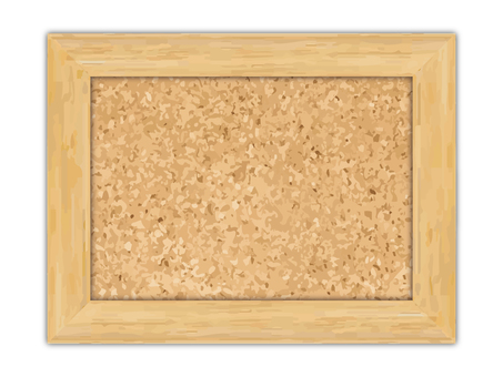 Picture stand of cork material