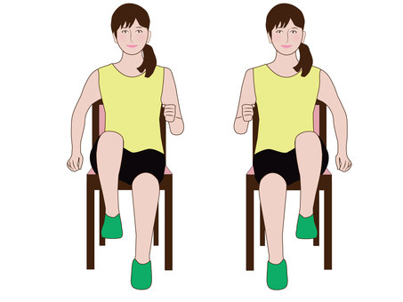 Stepping exercise
