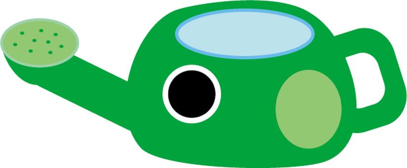 증산 관수 녹색