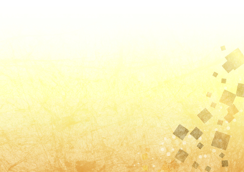 Gold foil wind background