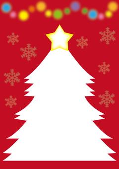 Christmas Tree Card B