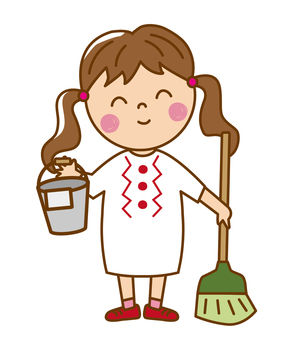 Girls _ Cleaning