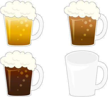 맥주 흑맥주