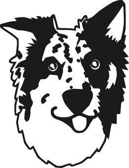 강아지 얼굴 1