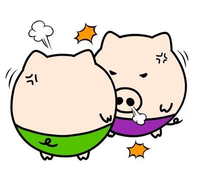 Oink arguing