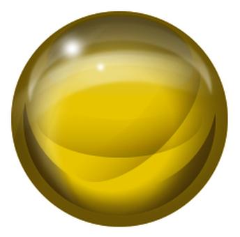 구형 노란색