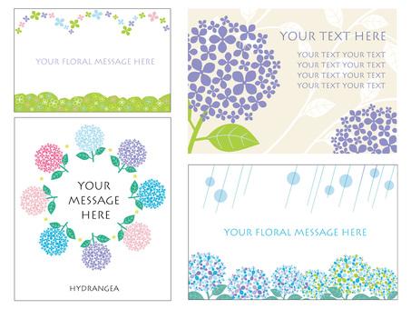 Hydrangea's card