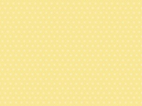 Hemp leaf pattern (pale yellow)