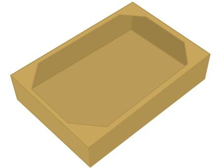 Cardboard brown