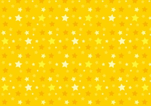 星柄 黄色 スウォッチあり