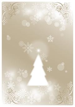圣诞卡片银