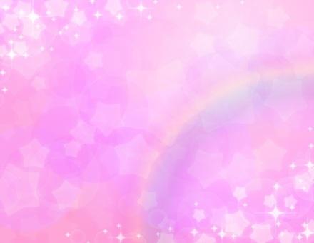 Yume cute _ pink _ star rainbow