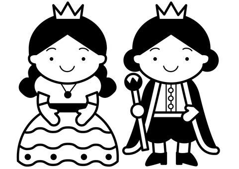 Prince and Princess 1c