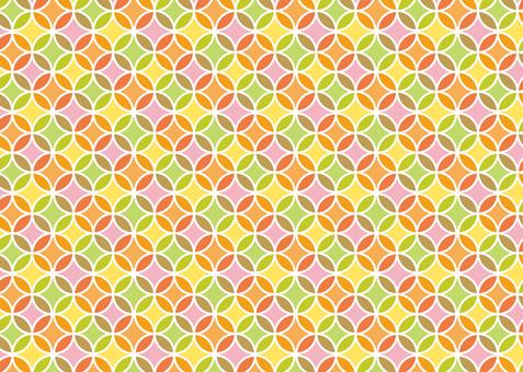 Background of morning glory pattern